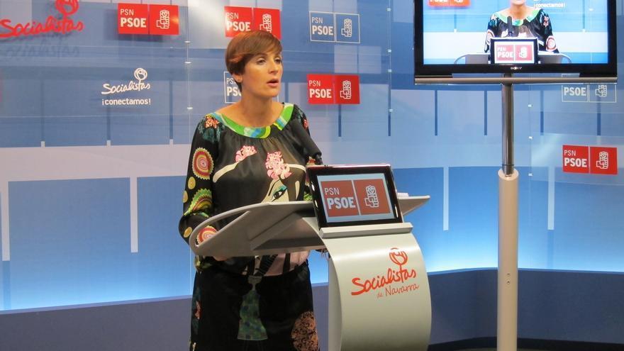 """María Chivite dice que """"no es el momento de las trincheras, sino del entendimiento para un nuevo modelo federal"""""""
