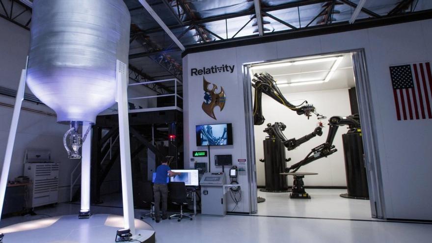 Impresora 3D de Relativity Space (Imagen: Relativity Space)