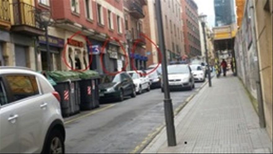 Una de las calles de Bilbao donde se ejerce la prostitución.