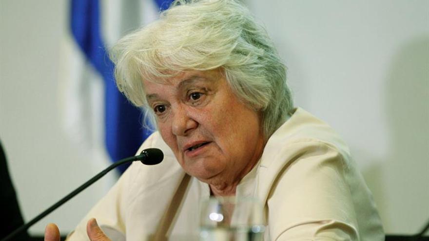 La senadora uruguaya Topolansky, nueva presidenta de la Asamblea General del Parlamento