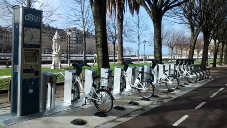 Bicicletas eléctricas de San Sebastián similares a las que se usarán en Madrid