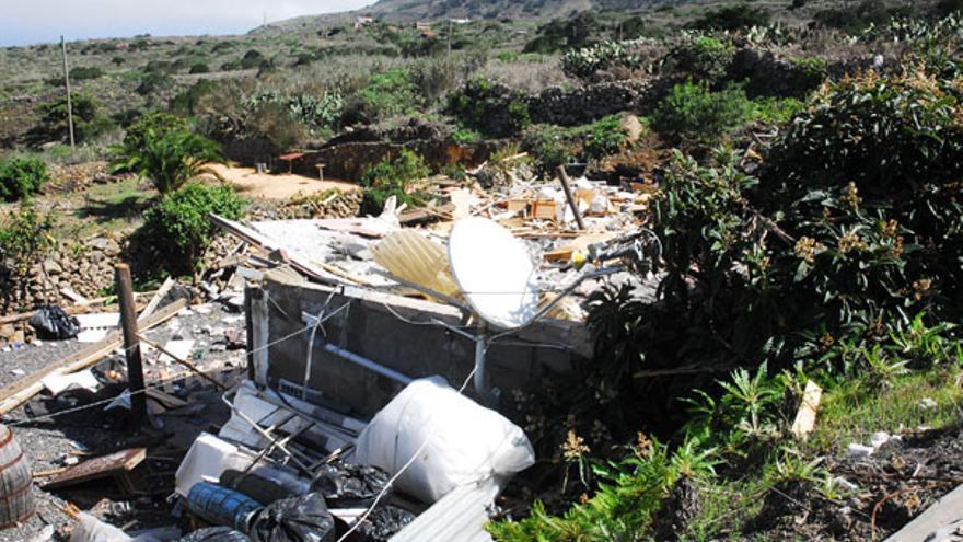Del estado de la vivienda tras la explosión #7