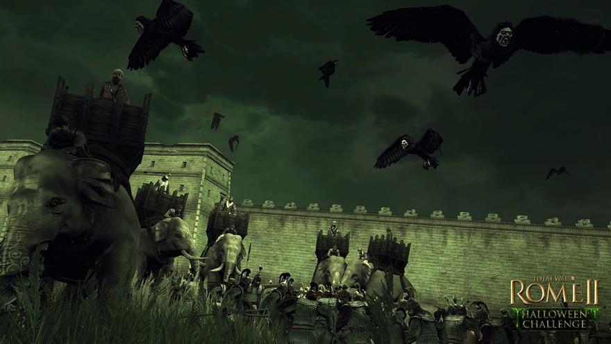 Total War Rome II Halloween