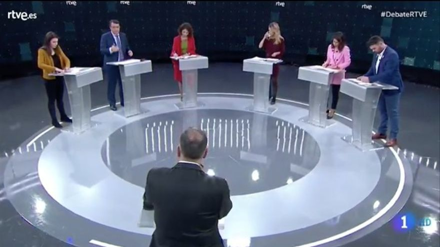 El debate en TVE.