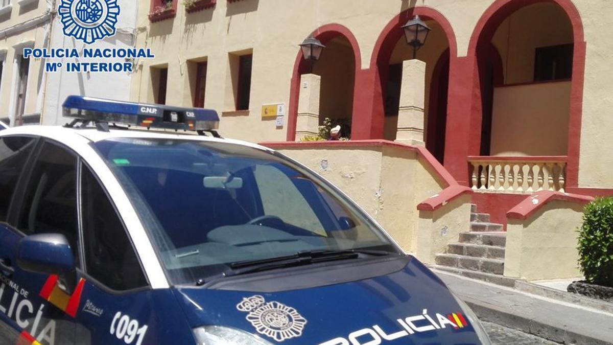 Imagen de archivo de la Comisaría de la Policía Nacional en Santa Cruz de La Palma.