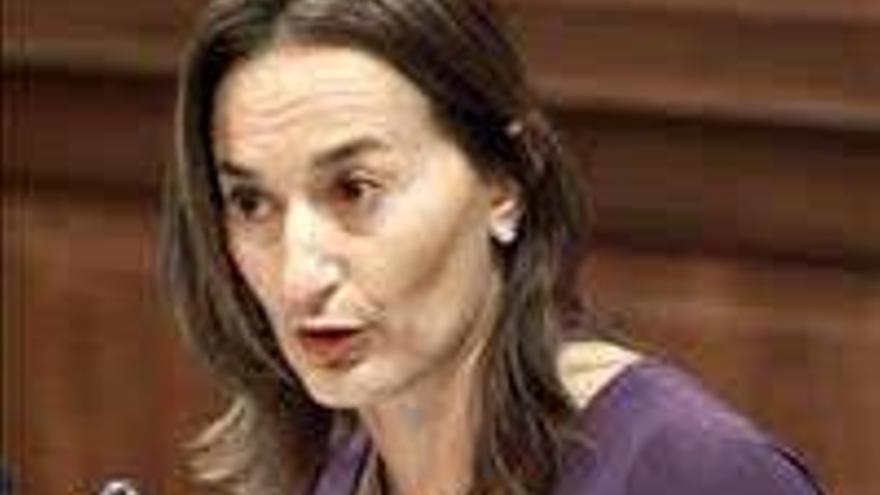 Águeda Montelongo, presidenta del PP de Fuerteventura.