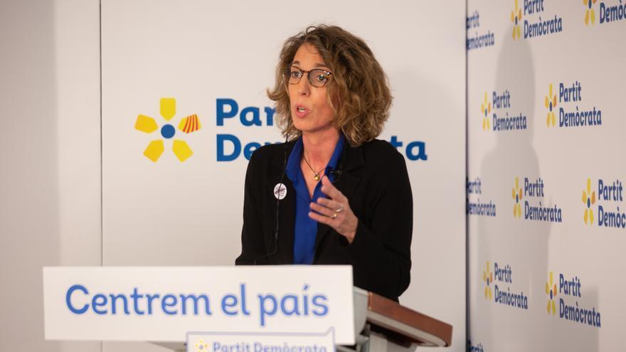 Encuentro Digital de Europa Press con la candidata del PDeCAT a la Presidencia de la Generalitat, Àngels Chacón, el 17 de diciembre de 2020.