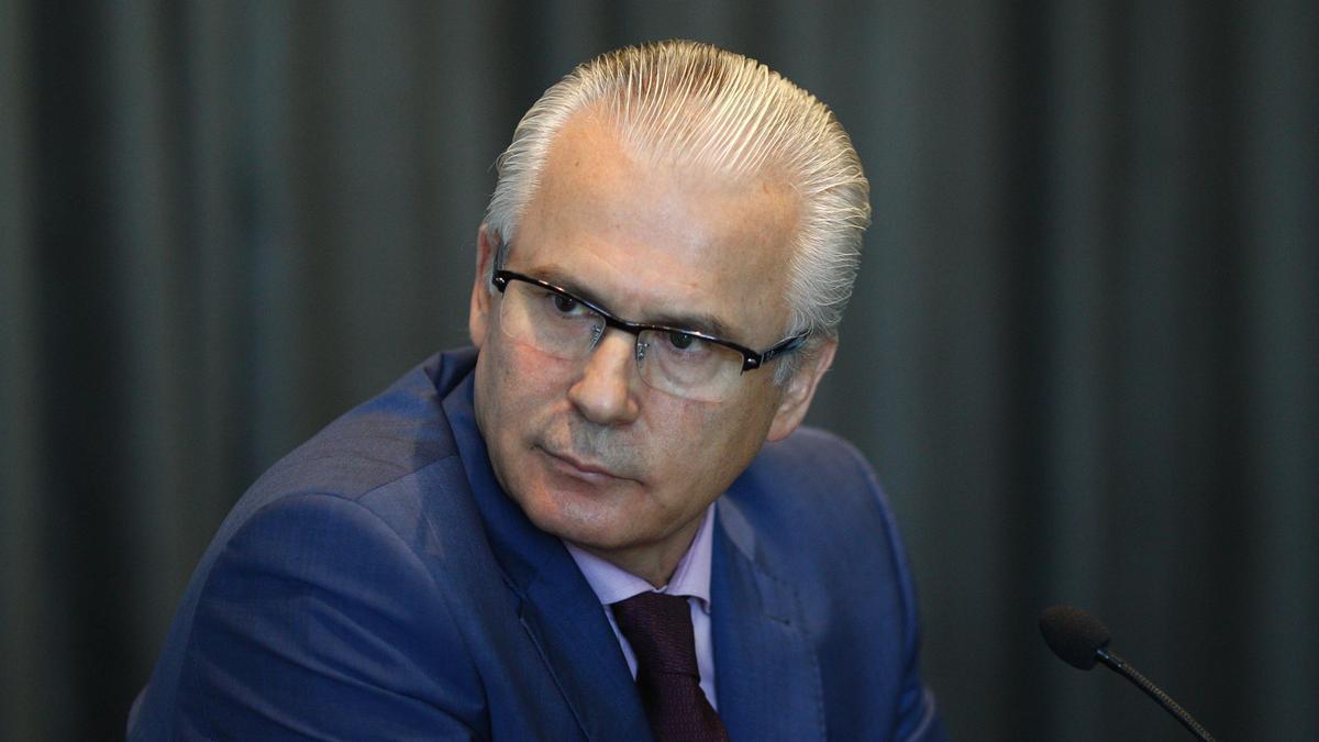 El juez Baltasar Garzón en 2016