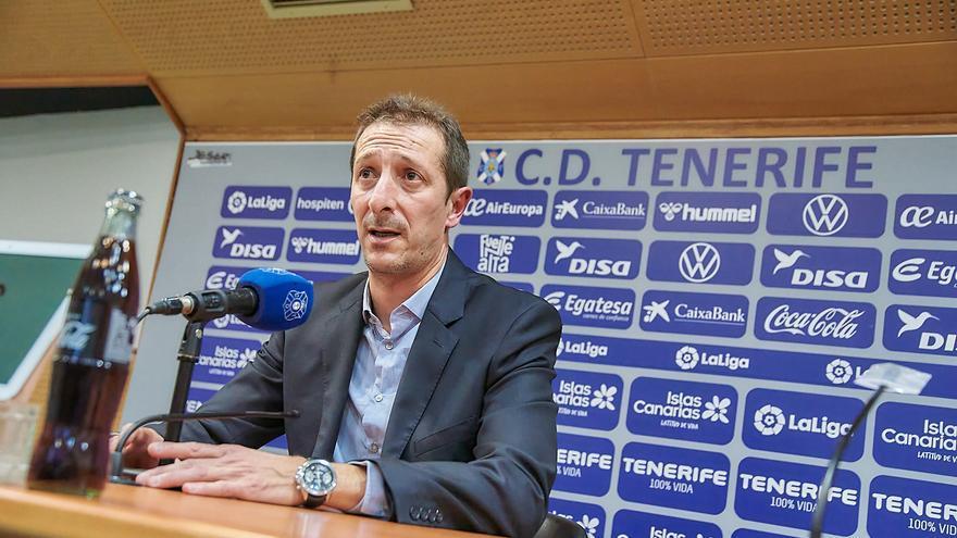 """Ramis: """"Tenemos muy claro lo que necesita el Tenerife"""""""