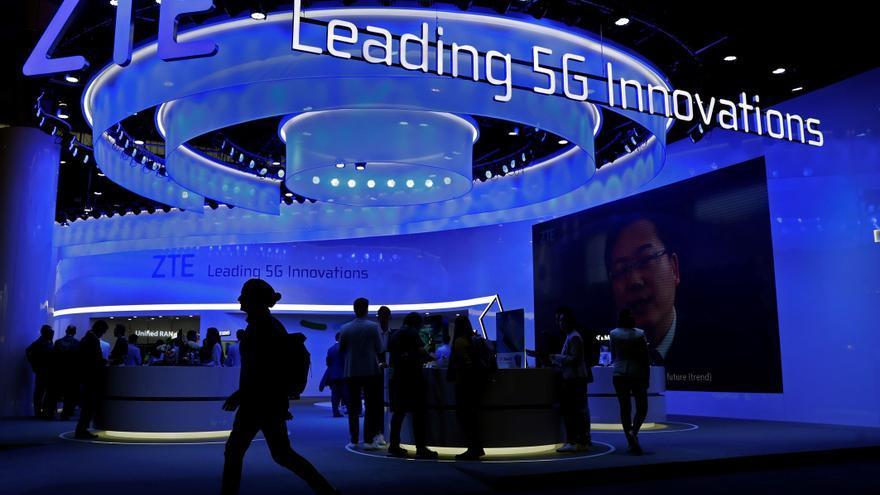 La tecnológica china ZTE gana 17,3 % menos por ausencia de extraordinarios