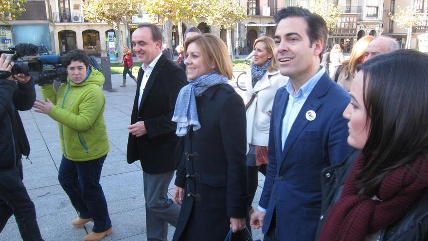 """Cospedal dice que es """"necesario"""" que gobierne el PP la próxima legislatura para que """"la recuperación llegue a todos"""""""