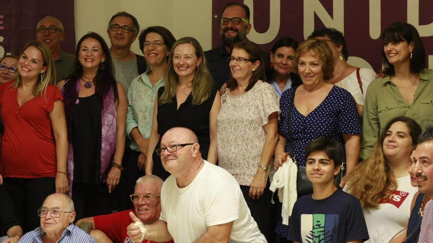 Inauguración de la sede abierta a la ciudadanía de Podemos en Lanzarote.