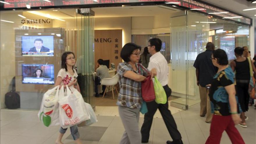 Las bolsas del sudeste asiático abren con pérdidas, salvo Bangkok y Singapur