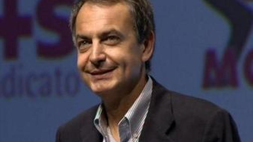 """Zapatero afirma que su objetivo es volver a crear empleo """"cuanto antes"""""""