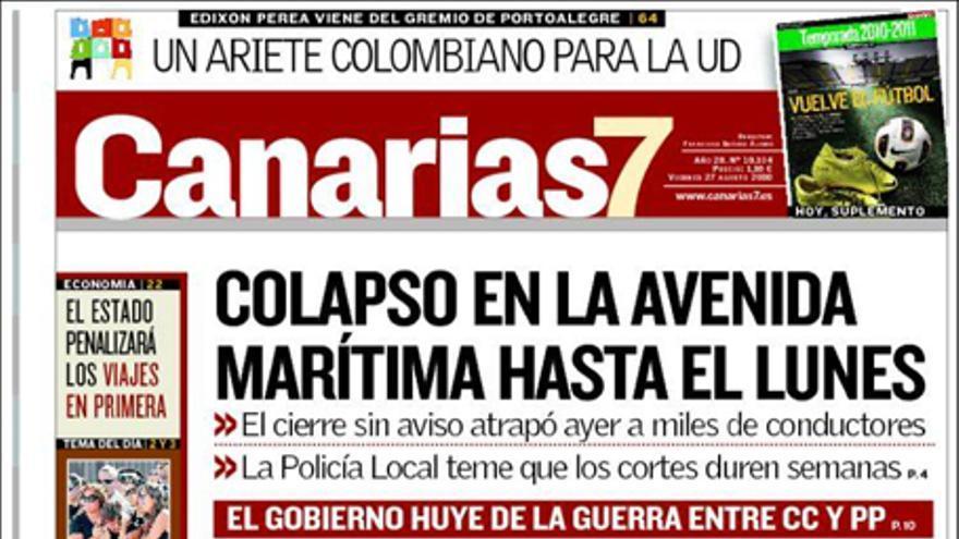 De las portadas del día (27/10/2010) #2