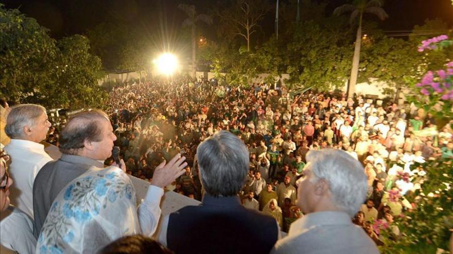La Liga Musulmana de Sharif se perfila como clara vencedora en Pakistán