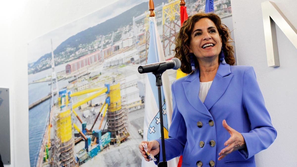 La ministra de Hacienda, María Jesús Montero. EFE/Kiko Delgado