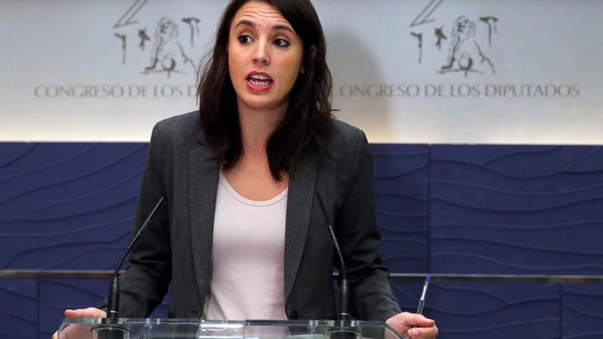 Unidos Podemos advierte que con Rajoy no habrá pensiones ahora ni en futuro