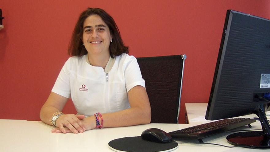 La pediatra del Centro Médico Tres Ramblas, Mónica Reyes.