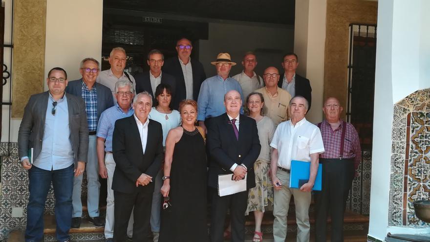 Miembros de la Academia de Gastronomía de Castilla-La Mancha, recién reactivada