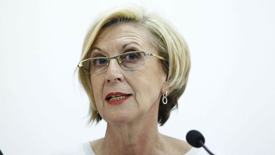"""Rosa Díez dice que es """"mal día"""" para quienes """"les gustaría dar por muerto a UPyD"""""""
