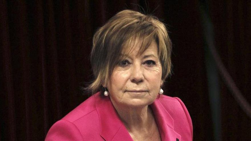 La vicepresidenta del Congreso de los Diputados, Celia Villalobos.