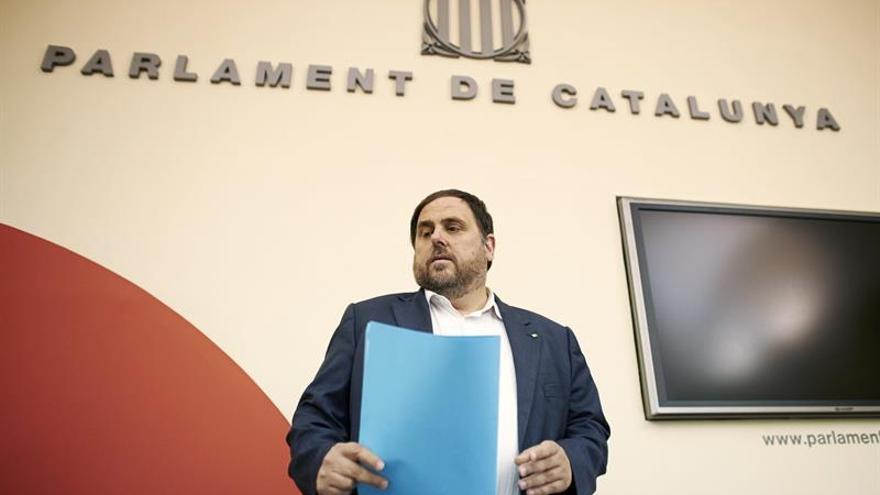 Junqueras se reunirá mañana con la vicepresidenta Soraya Sáenz de Santamaría