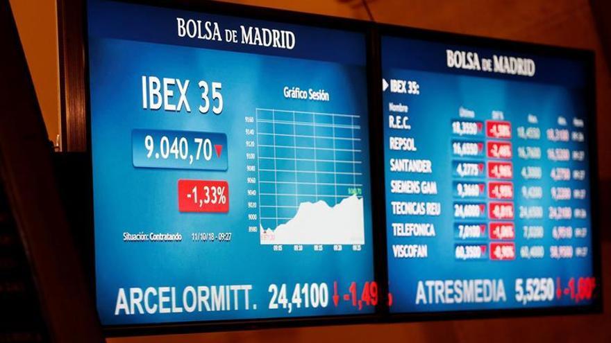 La Bolsa española abre con ganancias y el IBEX avanza un 1,15 %