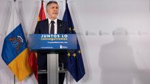 """El presidente canario pide """"con urgencia"""" a Sánchez la reunión Canarias-Estado para cerrar soluciones económicas"""