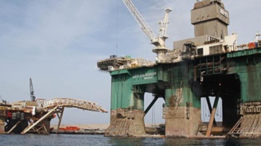 Petróleo plataforma