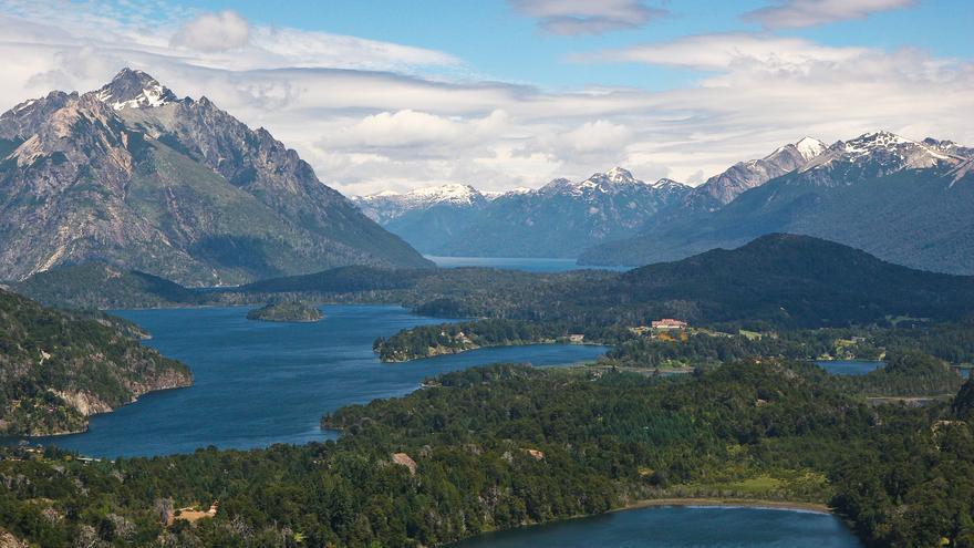 El lago nahuel Huapi es uno de los puntos culminantes de la Ruta 40. Danielle Pereira
