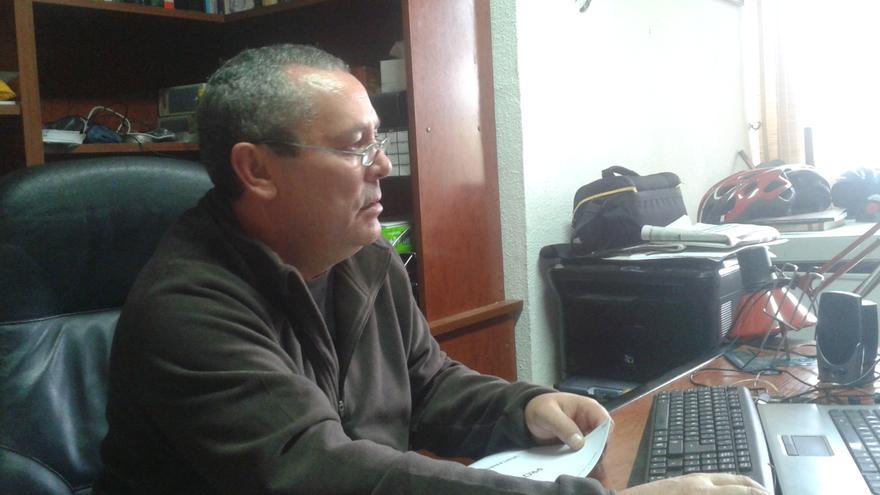 Juan Bosch, presidente de la Asociación de Amigos del Yacimiento de San Esteban / PSS