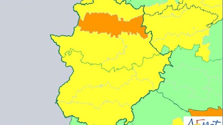 Alerta naranja en el Tajo y Alagón / http://www.aemet.es