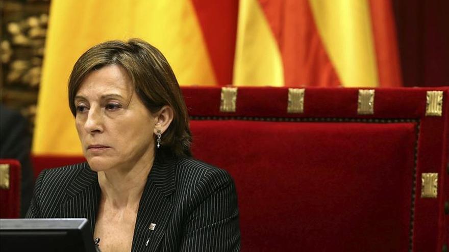 Forcadell pide al Rey audiencia para comunicarle la investidura de Puigdemont
