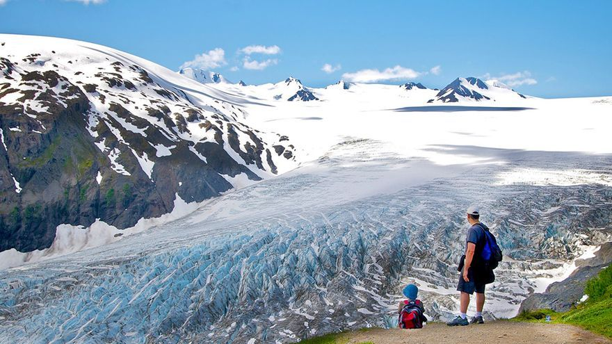 Parque Nacional Kenai Fjords, en Alaska