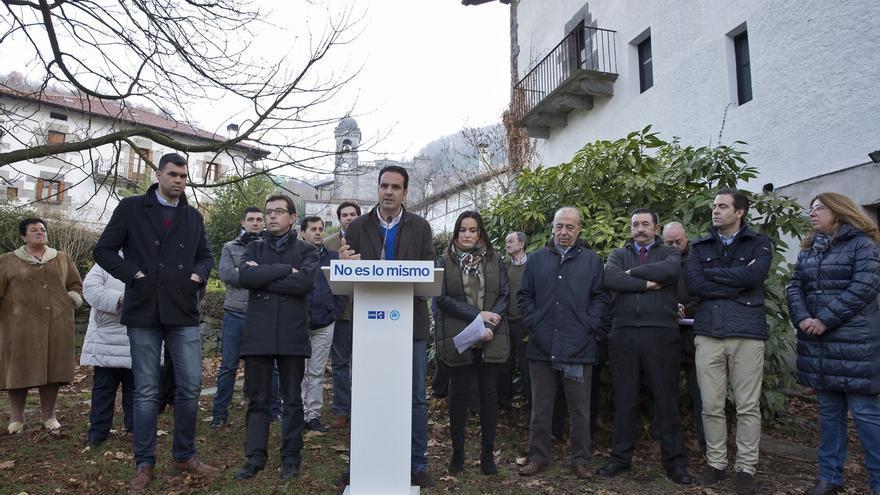 """Alli destaca el """"ensamblaje"""" del Régimen Foral dentro de la Constitución y defiende """"blindarlo"""""""