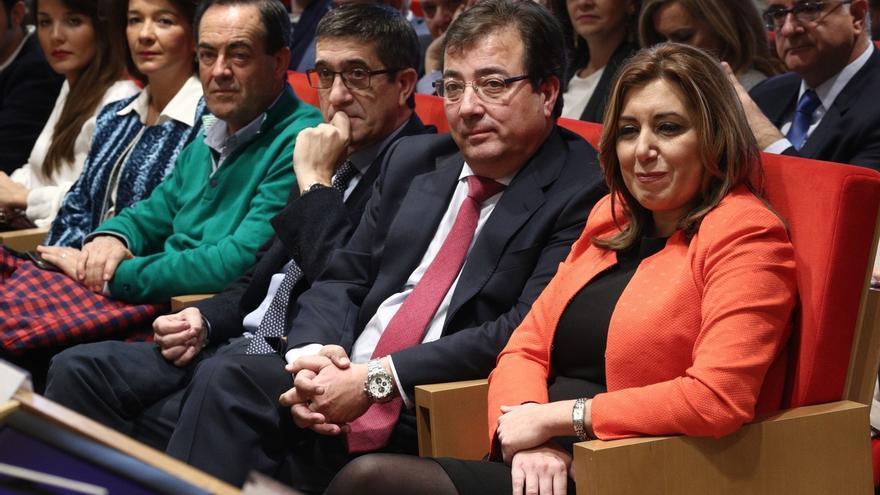 Vara rehúsa hablar de candidatos al congreso del PSOE pero defiende que se puede estar en Ferraz y presidir una CCAA