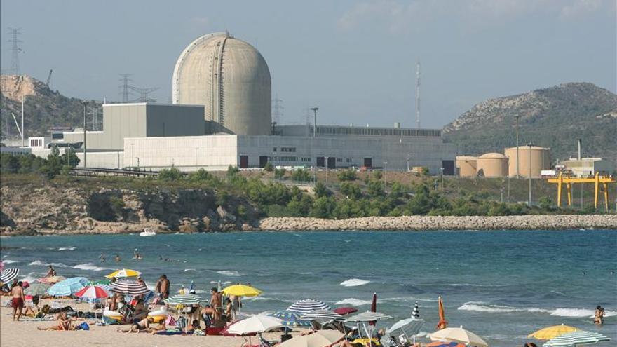 La central nuclear de Vandellòs II, parada por las fuertes rachas de viento