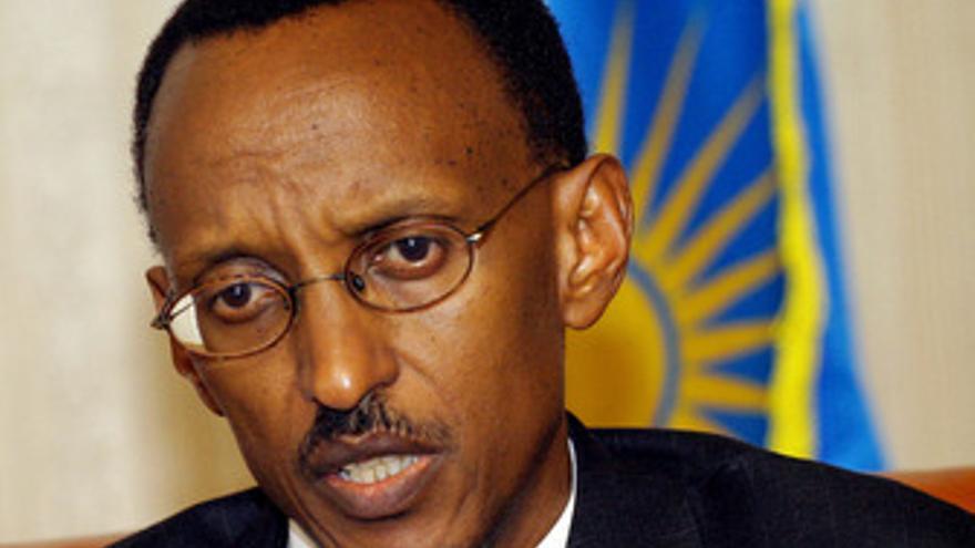 Paul Kagame, presidente de Ruanda
