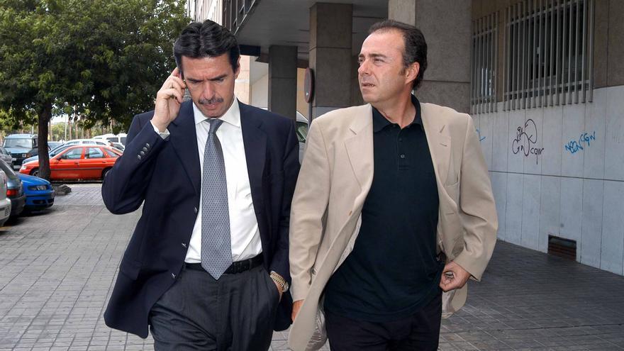 José Manuel Soria y Miguel Zerolo en una imagen de archivo de julio de 2004