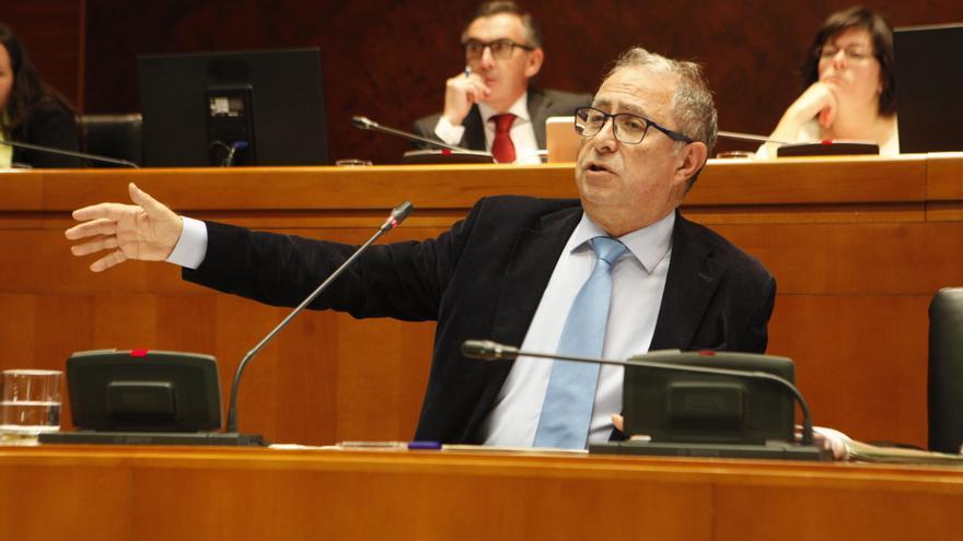 El consejero de Hacienda, Fernando Gimeno.