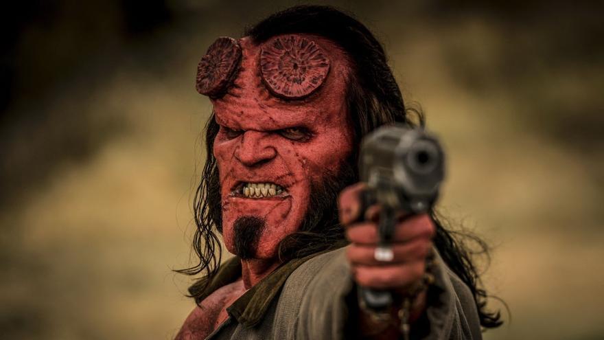 Fotograma de 'Hellboy' (2019)