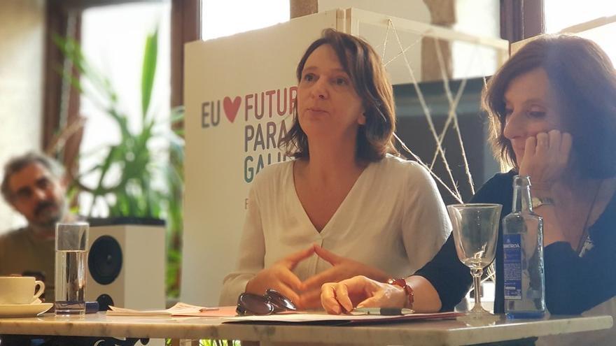 Carolina Bescansa, candidata a la secretaría general de Podemos Galicia