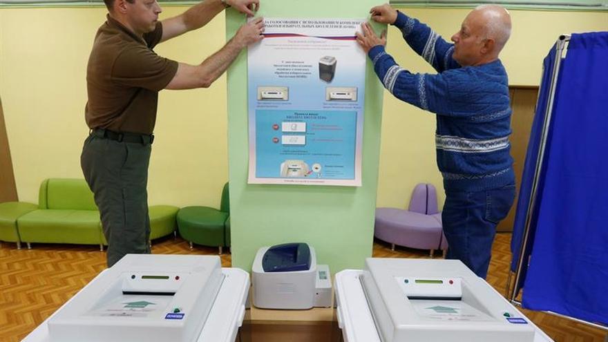 Anulan los resultados de las legislativas rusas en nueve colegios por irregularidades