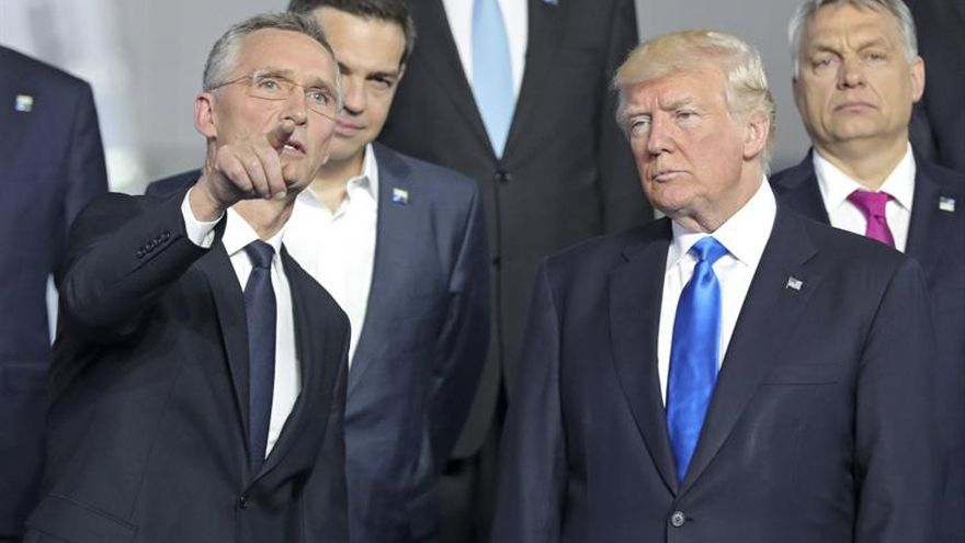 Trump pide a la OTAN parar el terrorismo y la inmigración sin la promesa de una defensa mutua