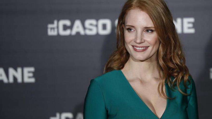 "Jessica Chastain planta cara al ""lobby"" armamentístico en ""Miss Sloane"""