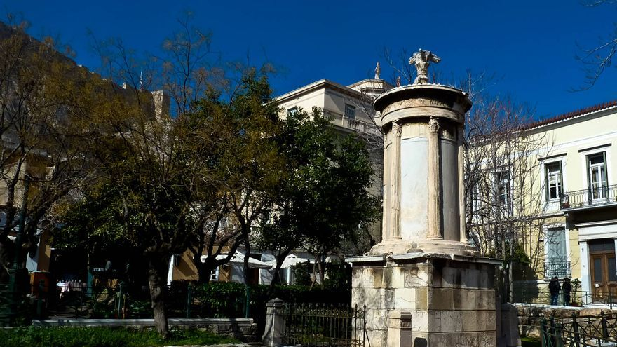 Baños Antiguos Grecia: , uno de los monumentos más antiguos de Atenas TURISMO DE GRECIA