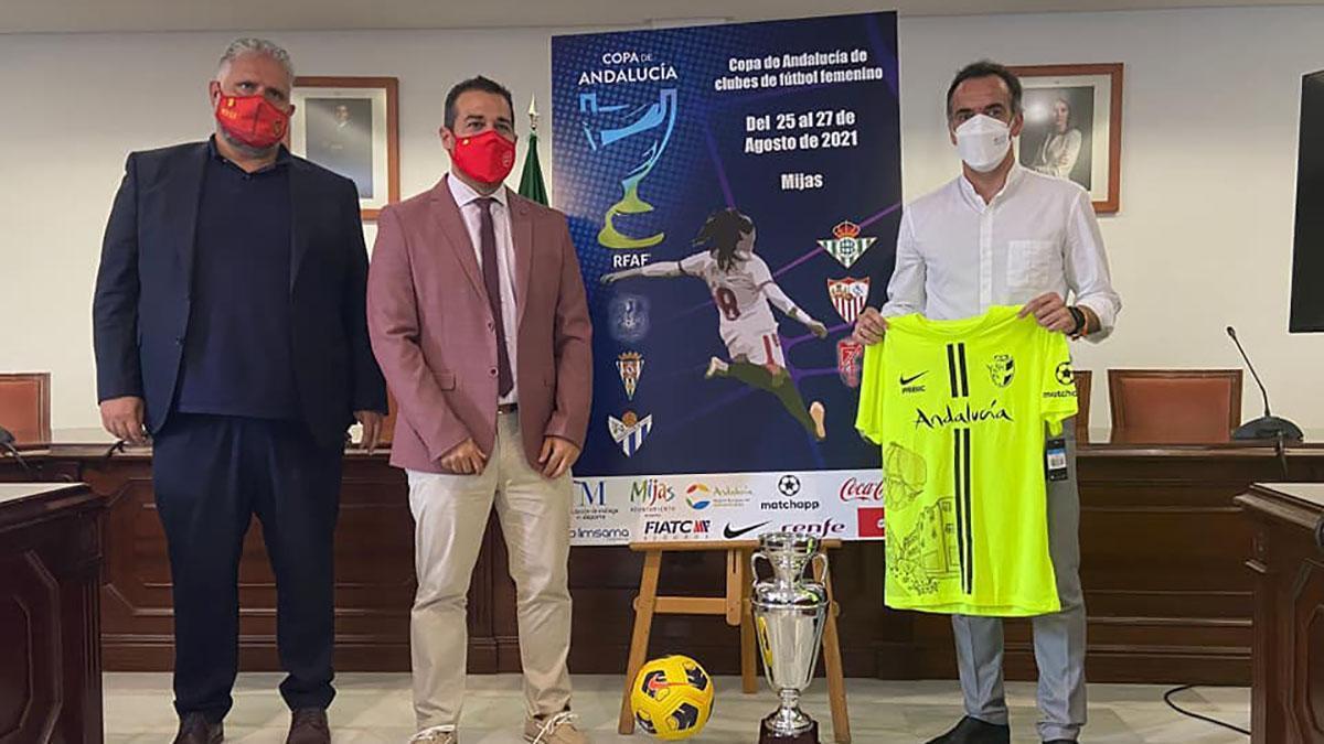 Presentación de la Copa de Andalucía de fútbol femenino