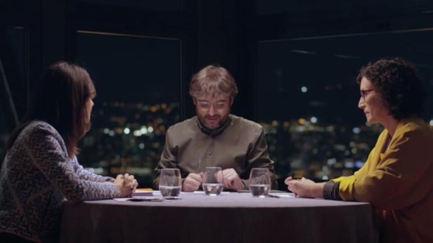 Debate entre Inés Arrimadas y Marta Rovira en Salvados