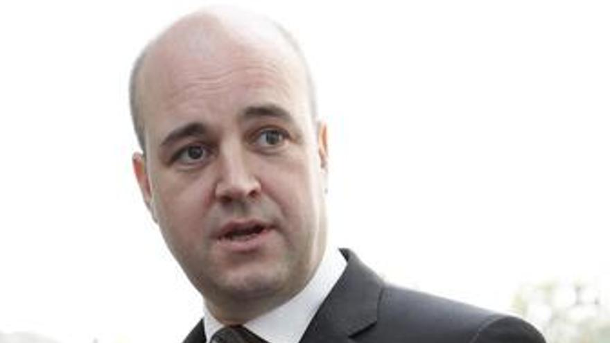 Primer ministro sueco, Fredrik Reinfeldt